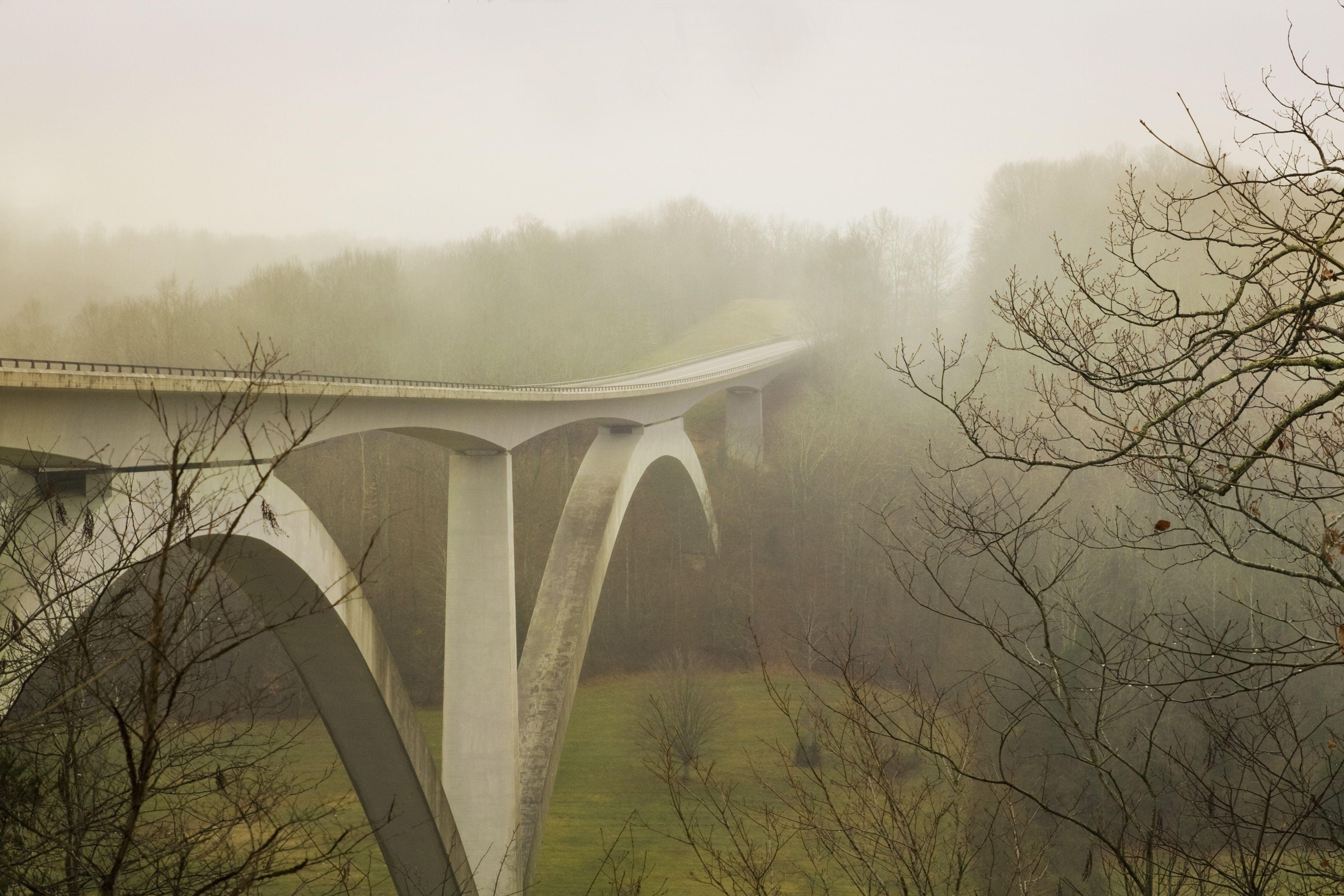Natchez Trace Bridge over Hwy 96 in Franklin, TN