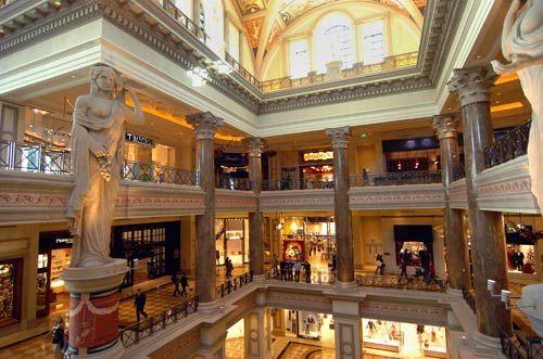 Shops in Las Vegas