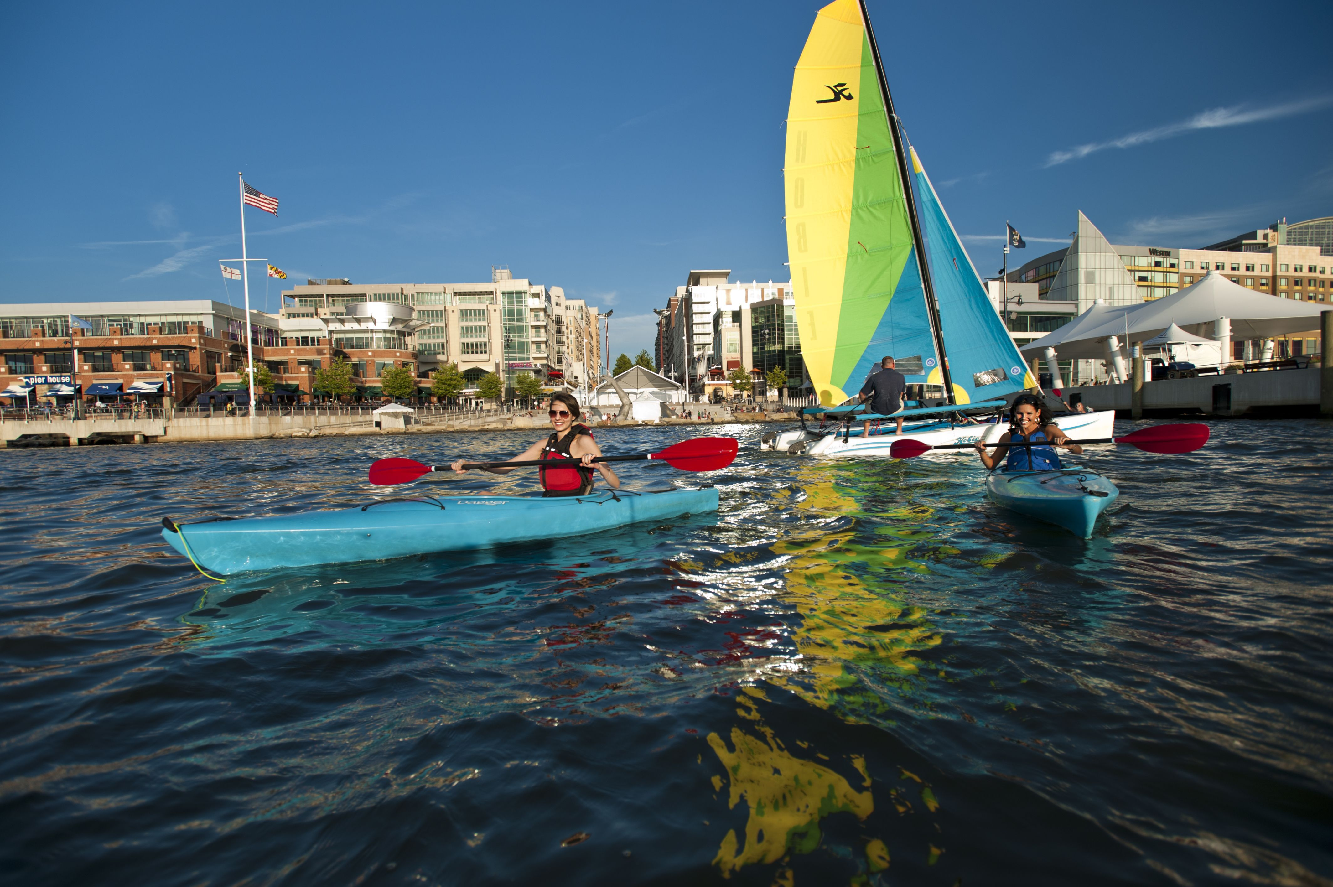 Boating on the National Harbor
