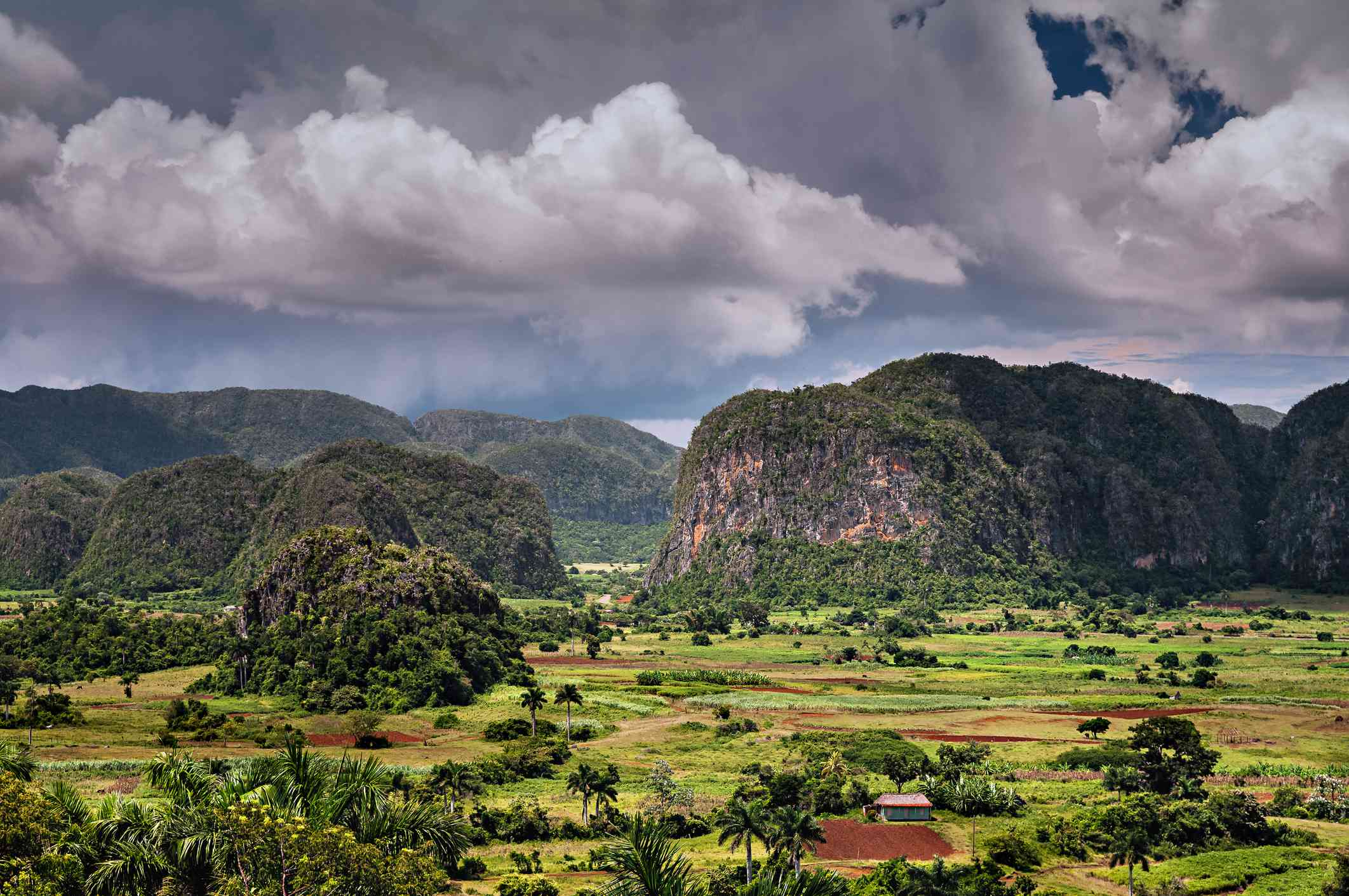 Rural landscape, Vinales, Pinar del Rio, Cuba