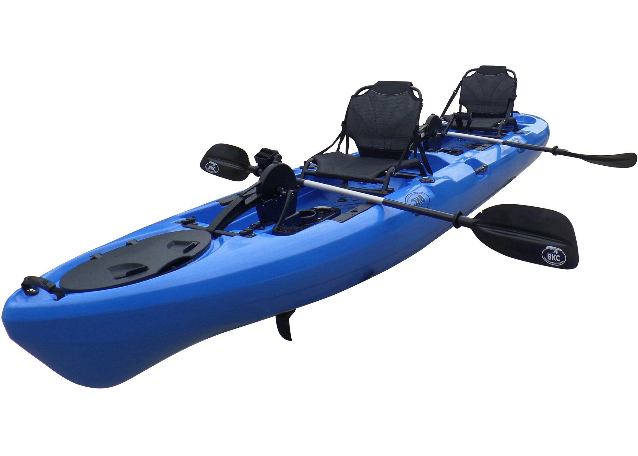 BKC PK14 Angler 14-foot Sit On Top Tandem Fishing Kayak