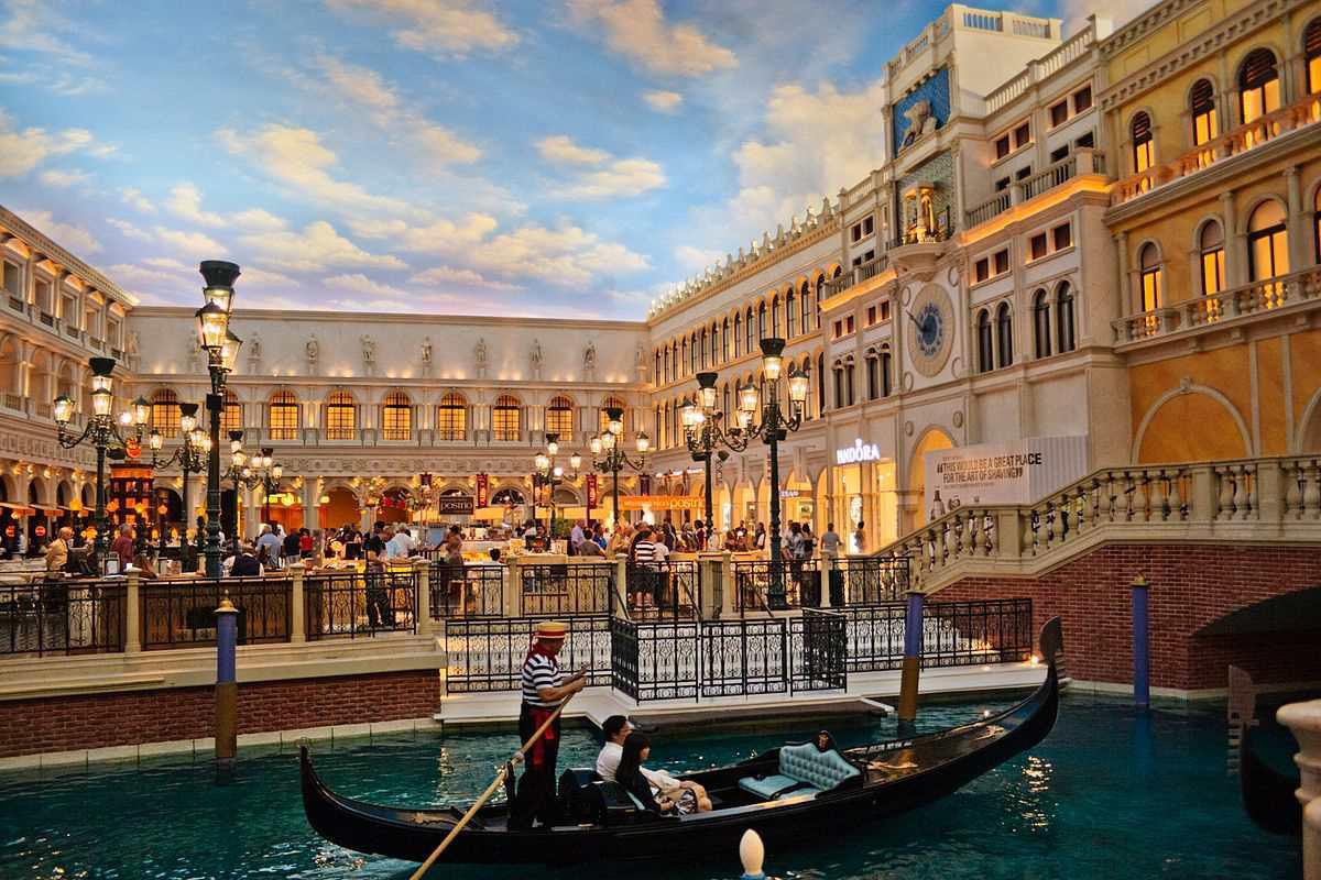 Grand Canal Shoppes Las Vegas