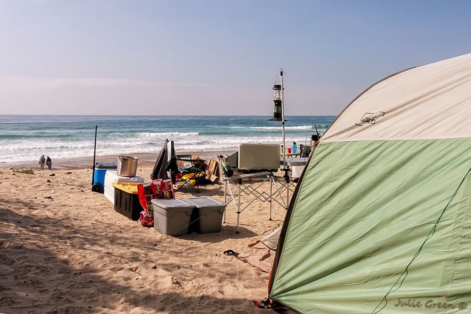 Camping at Jalama Beach