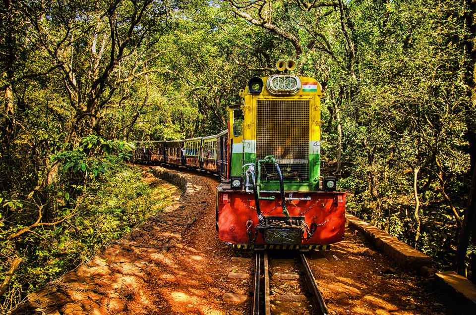 Matheran toy train.