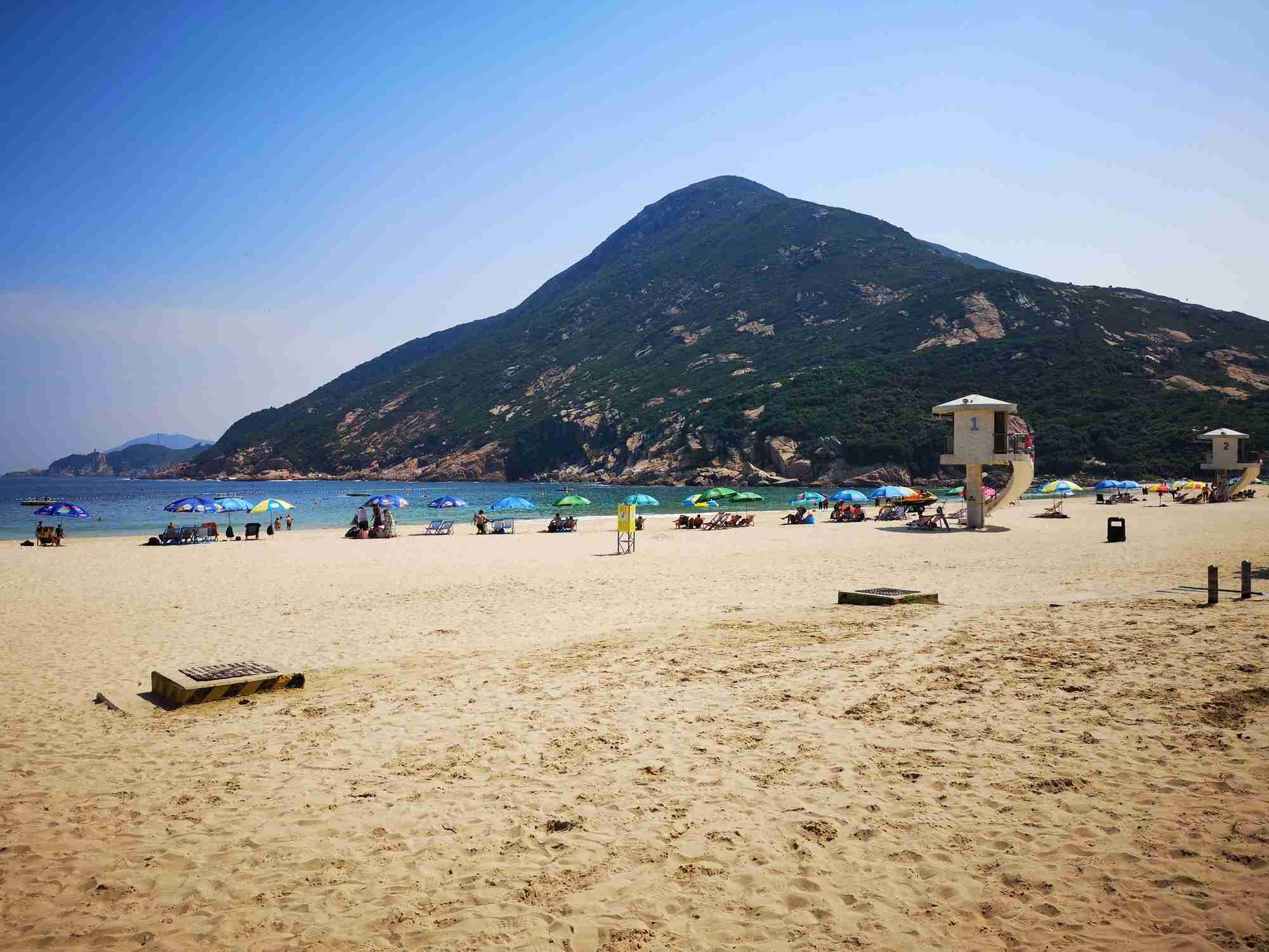 Shek O Beach in Hong Kong