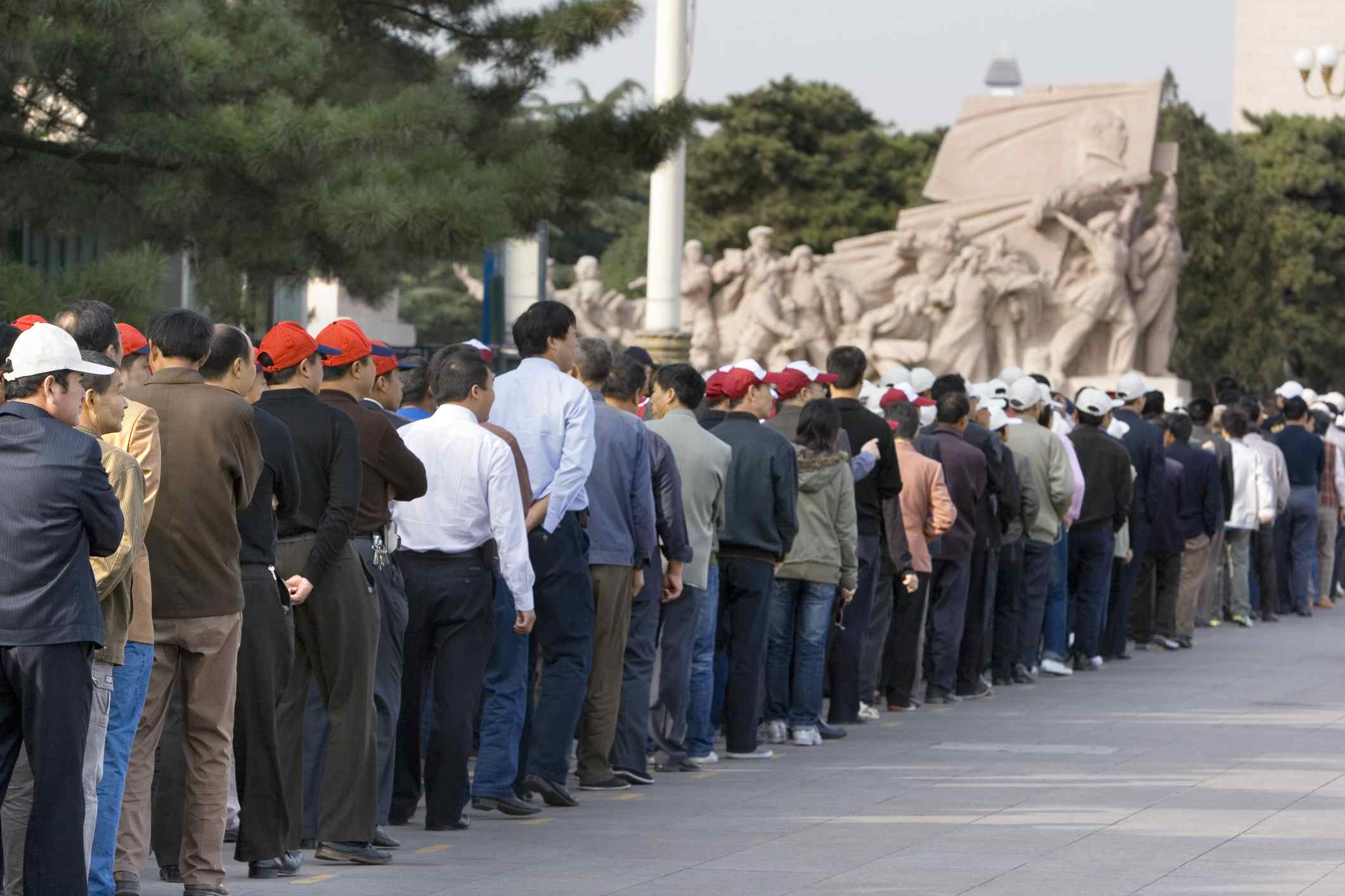 Endless queue for Mao's Tomb