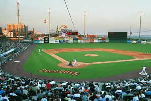 Brooklyn Cyclones. General View with Coney Island