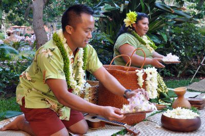 Lei-making Experience
