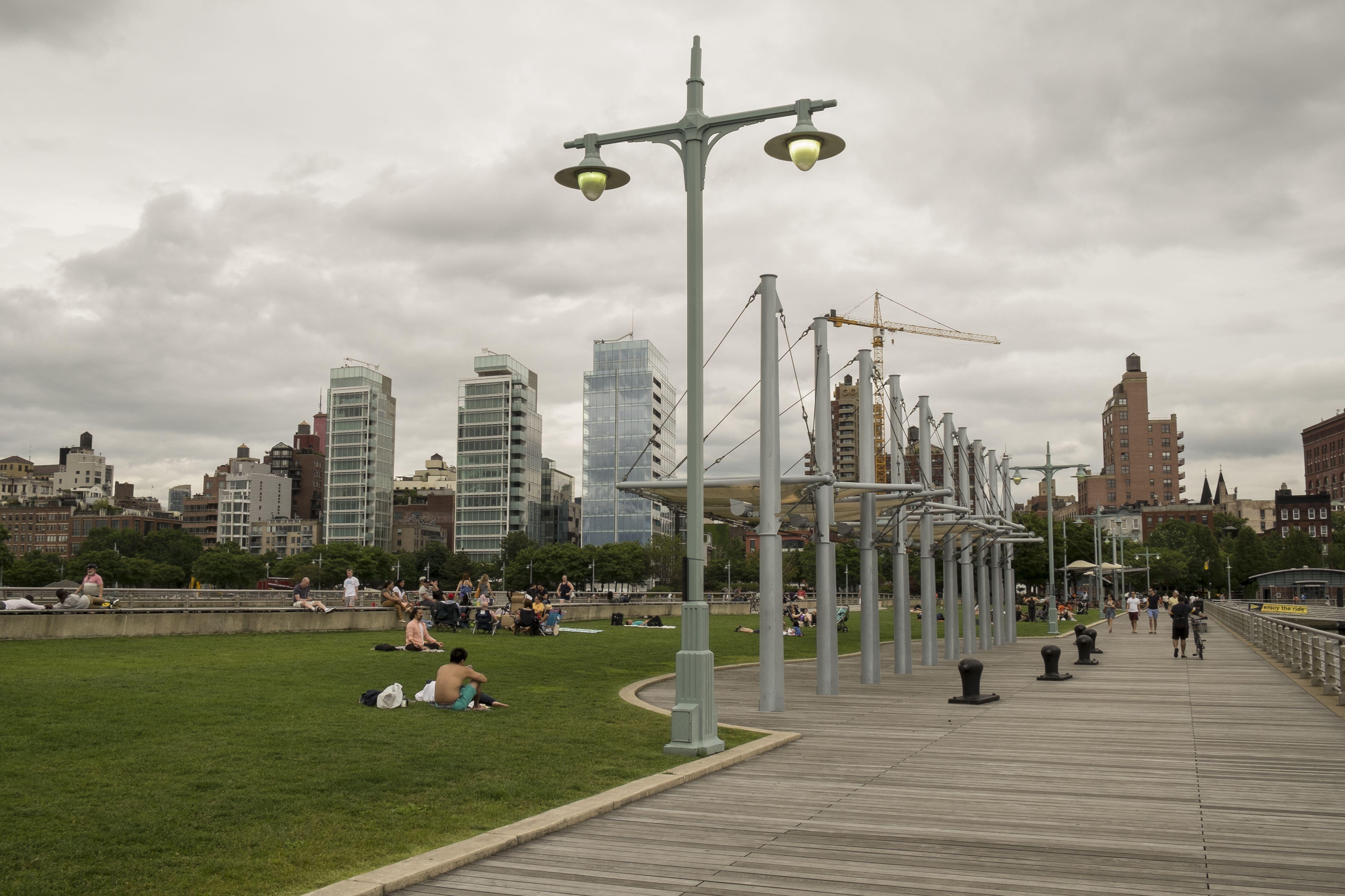 Hudson River Park, Pier 45 in Manhattan