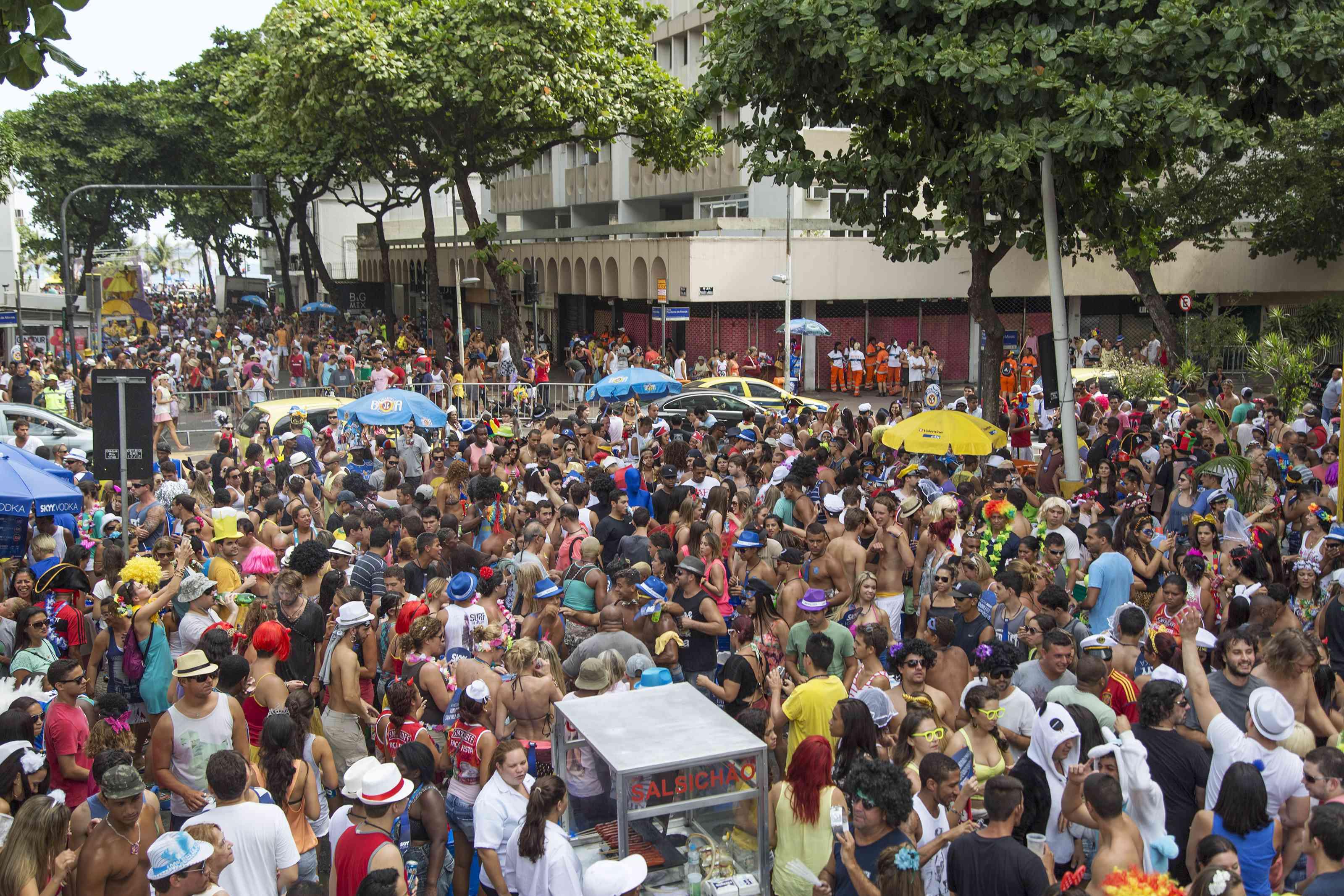 Street Carnival in Rio