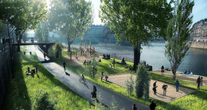 Paris is becoming more pedestrian-friendly, with car-free zones expanding in 2016.