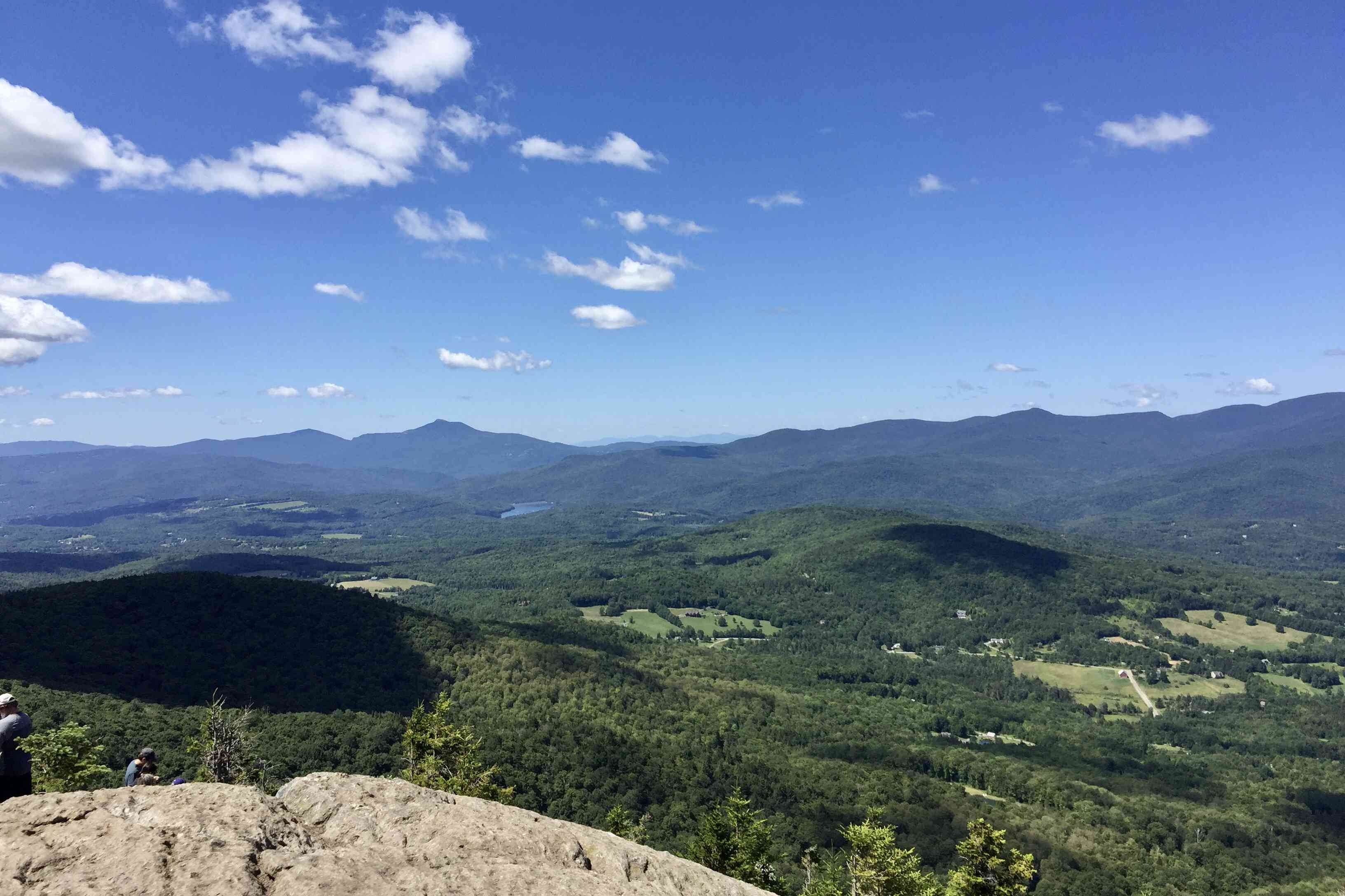 Stowe Pinnacle Hike Vermont