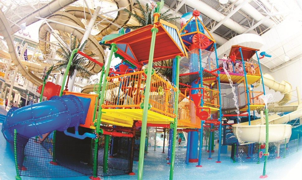 World Waterpark At The West Edmonton Mall