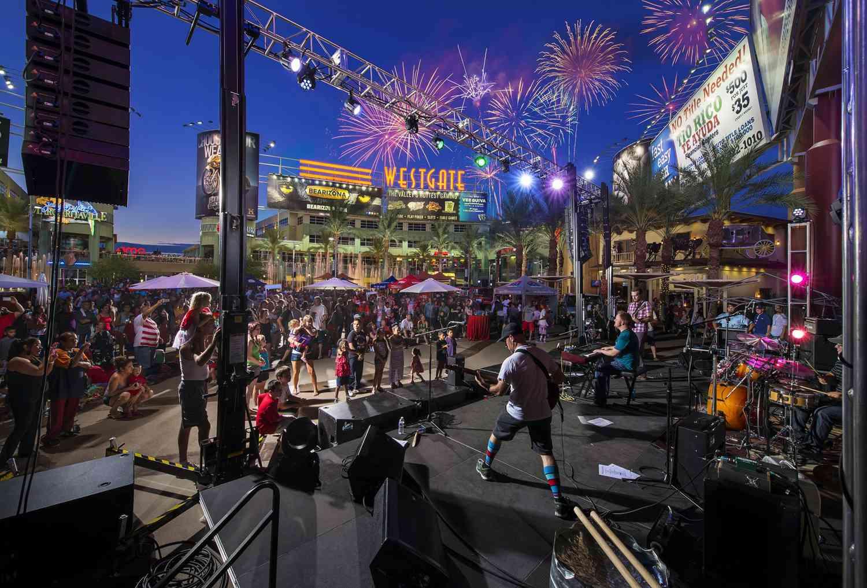 Westgate Firework Fest in Glendale, AZ