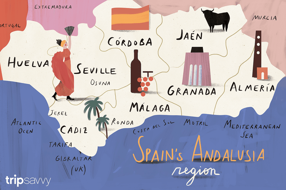Spain's Andalusia region