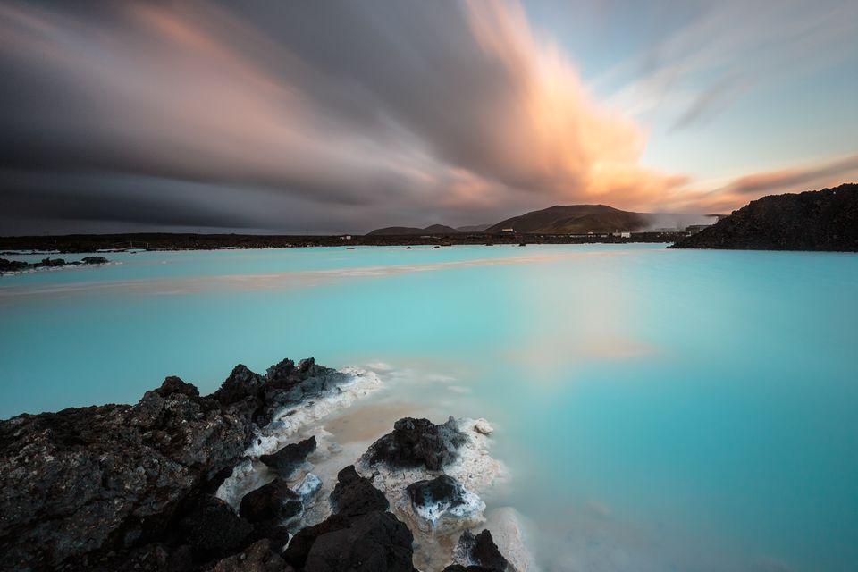Geothermal spa blue lagoon