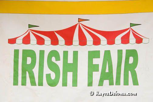 Irish Fair Sign