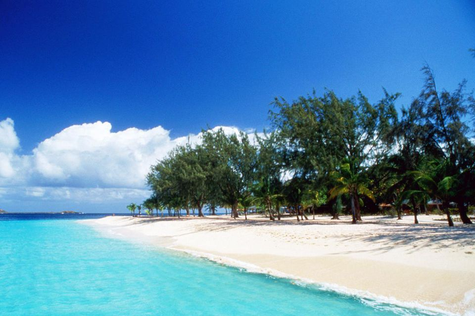 Palm Island Beach Club, Palm Island, St Vincent, Grenadines, Caribbean