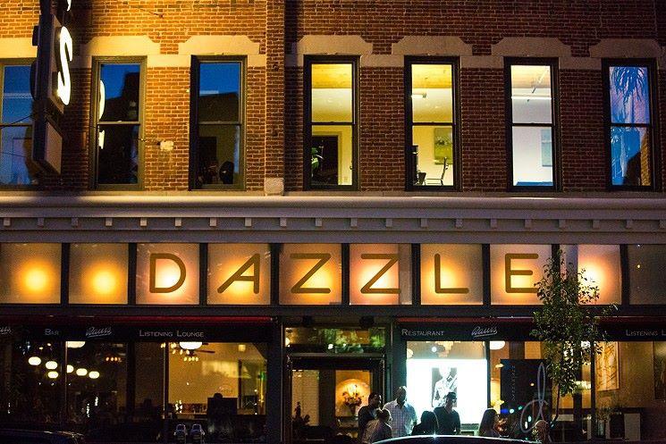 The exterior of Dazzle