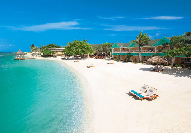 Beach at Sandals Resort