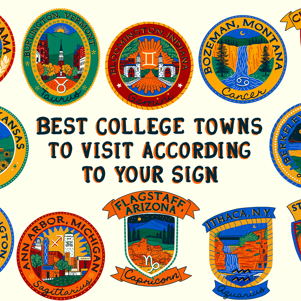 The Best College Towns To Visit in 2019 According to Your Zodiac Sign