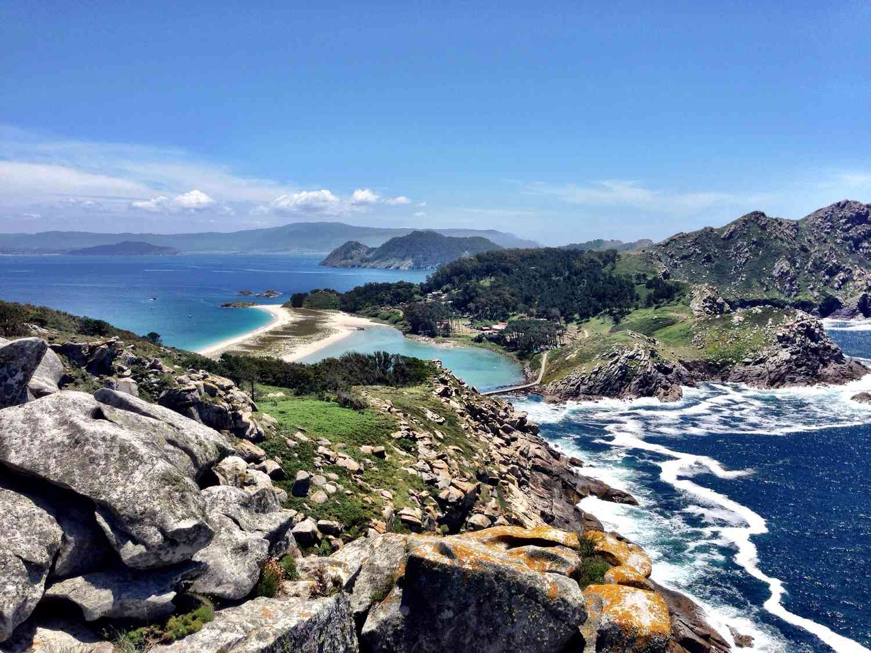 Cies Islands in Galicia, Spain