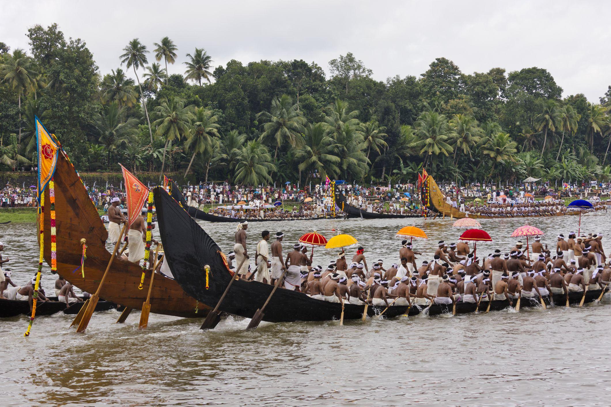Kerala Schlange Bootsrennen