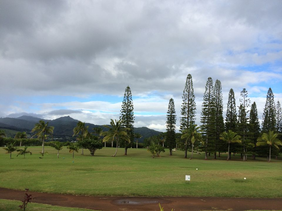Kukuiolono Golf course in the distance