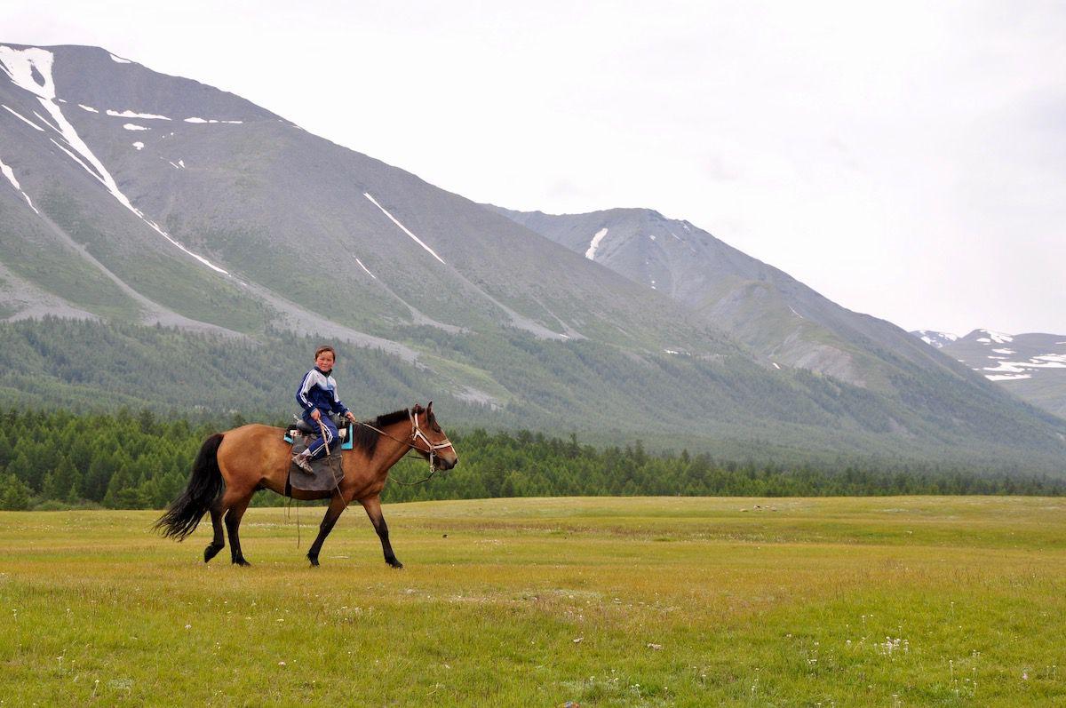 Mongolia by Horseback