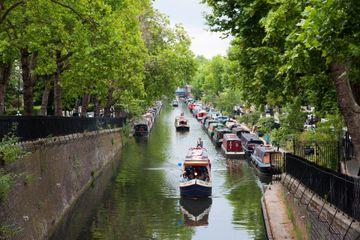 Little Venice on the Regent's Canal, London, UK
