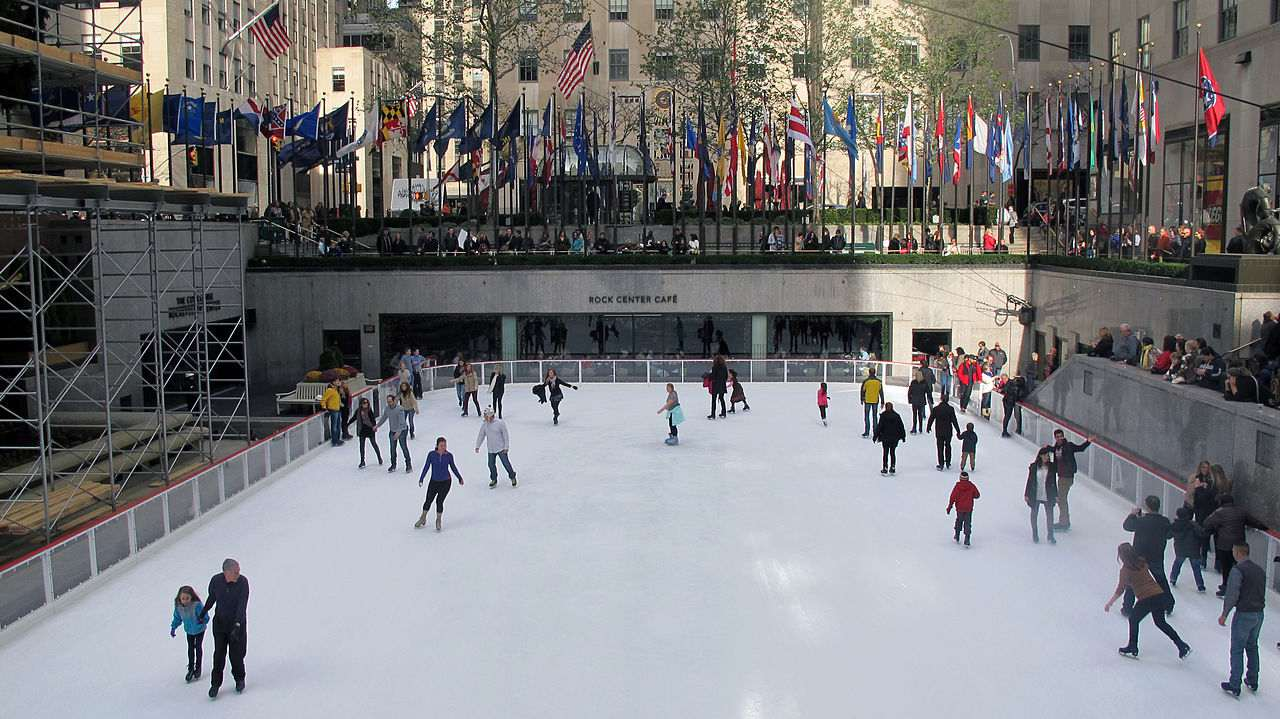 Rockefeller Center- Ice Skating