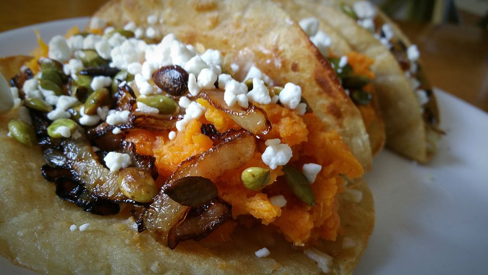 Sweet potato taco