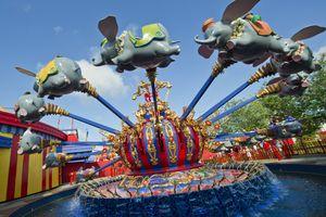 Dumbo the Flying Elephant ride