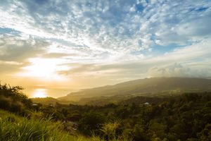 Martinique from Mount Pelee