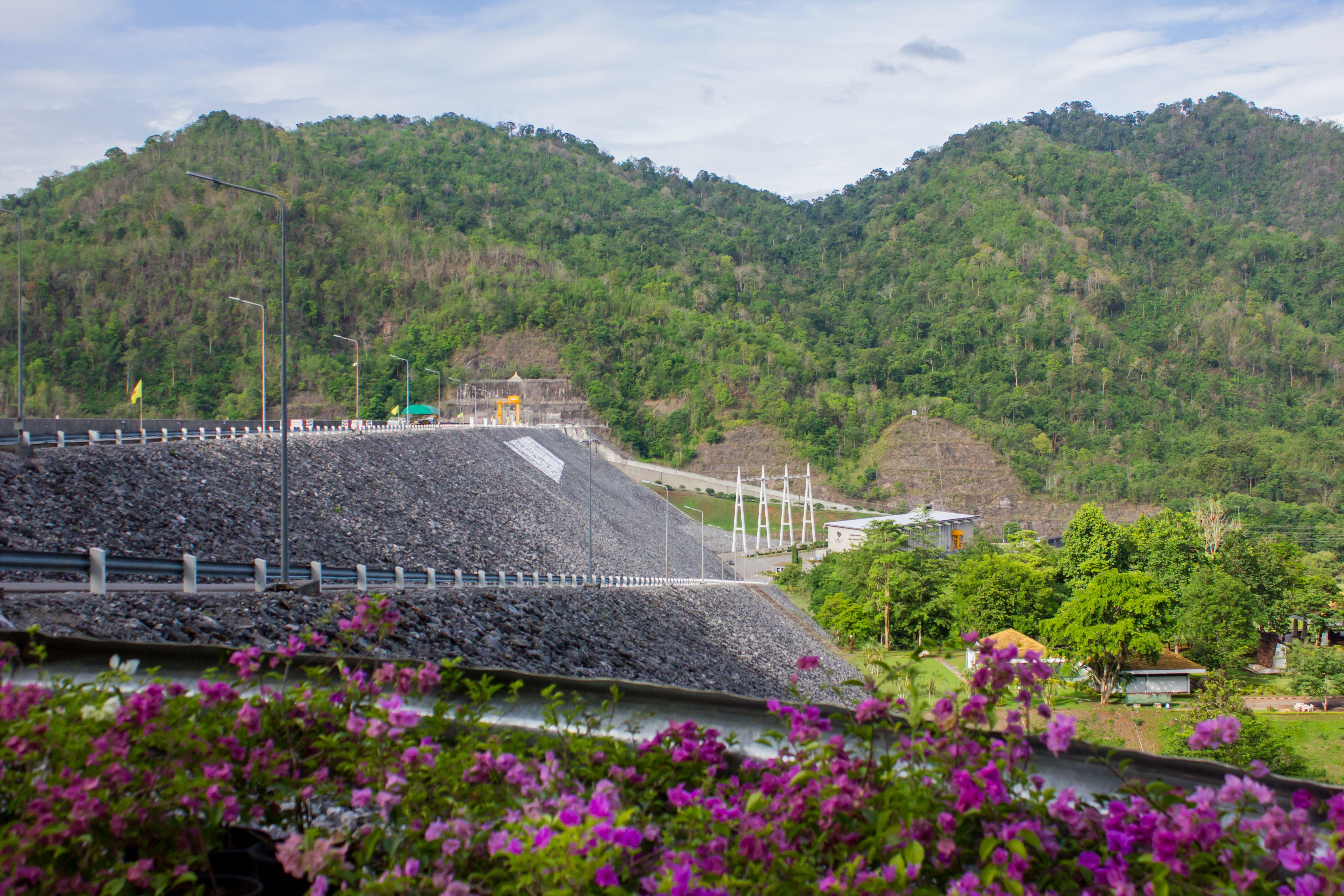 Srinakarind Dam near Kanchanaburi, Thailand