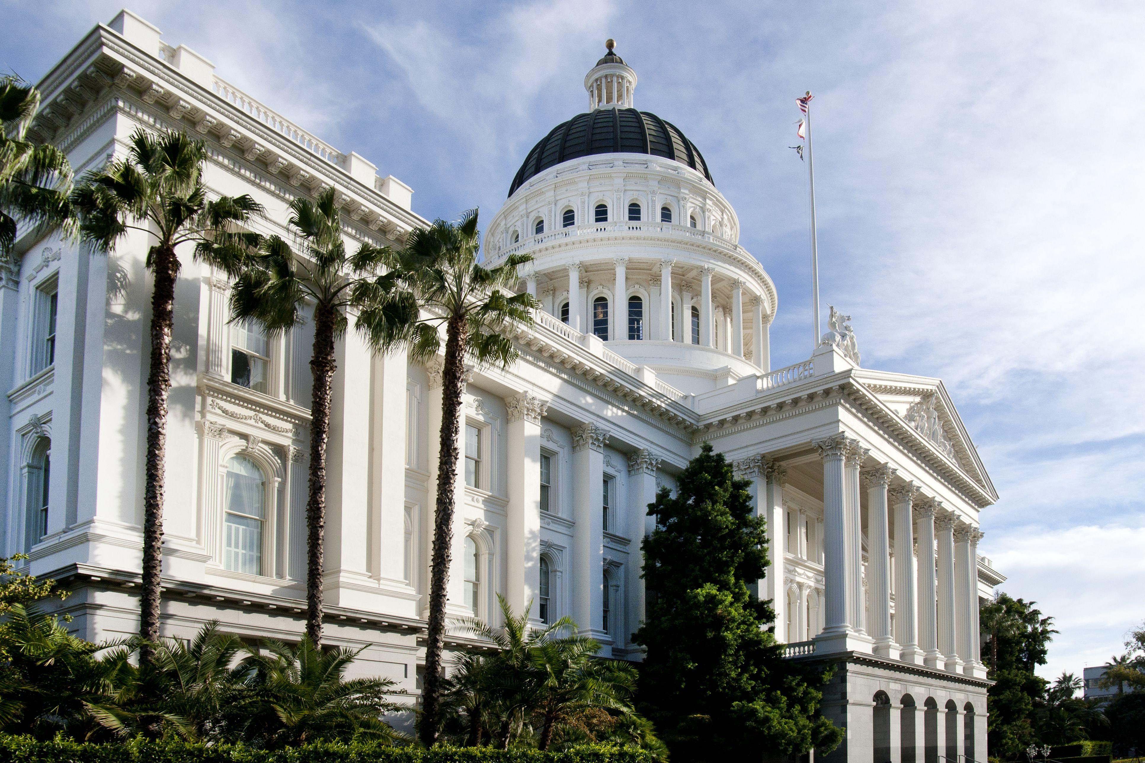 California State Capitol building, Sacramento, CA