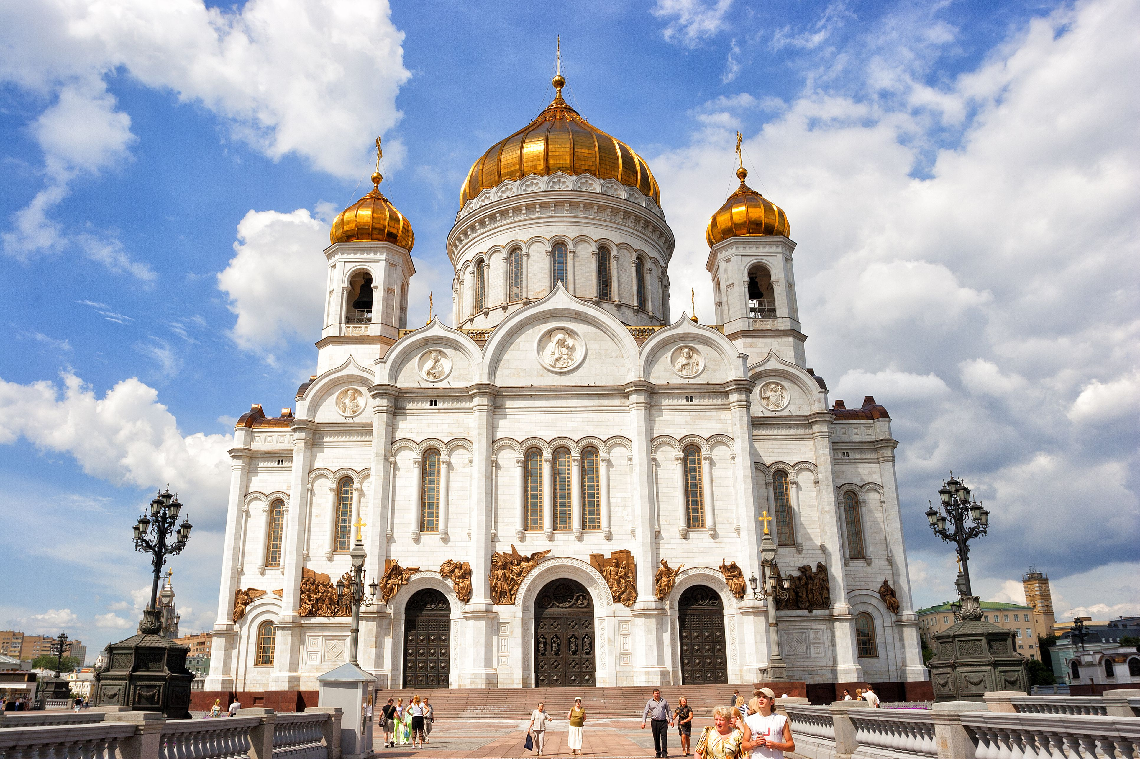 Russia, Moscow, Cathedral of Christ the Saviour
