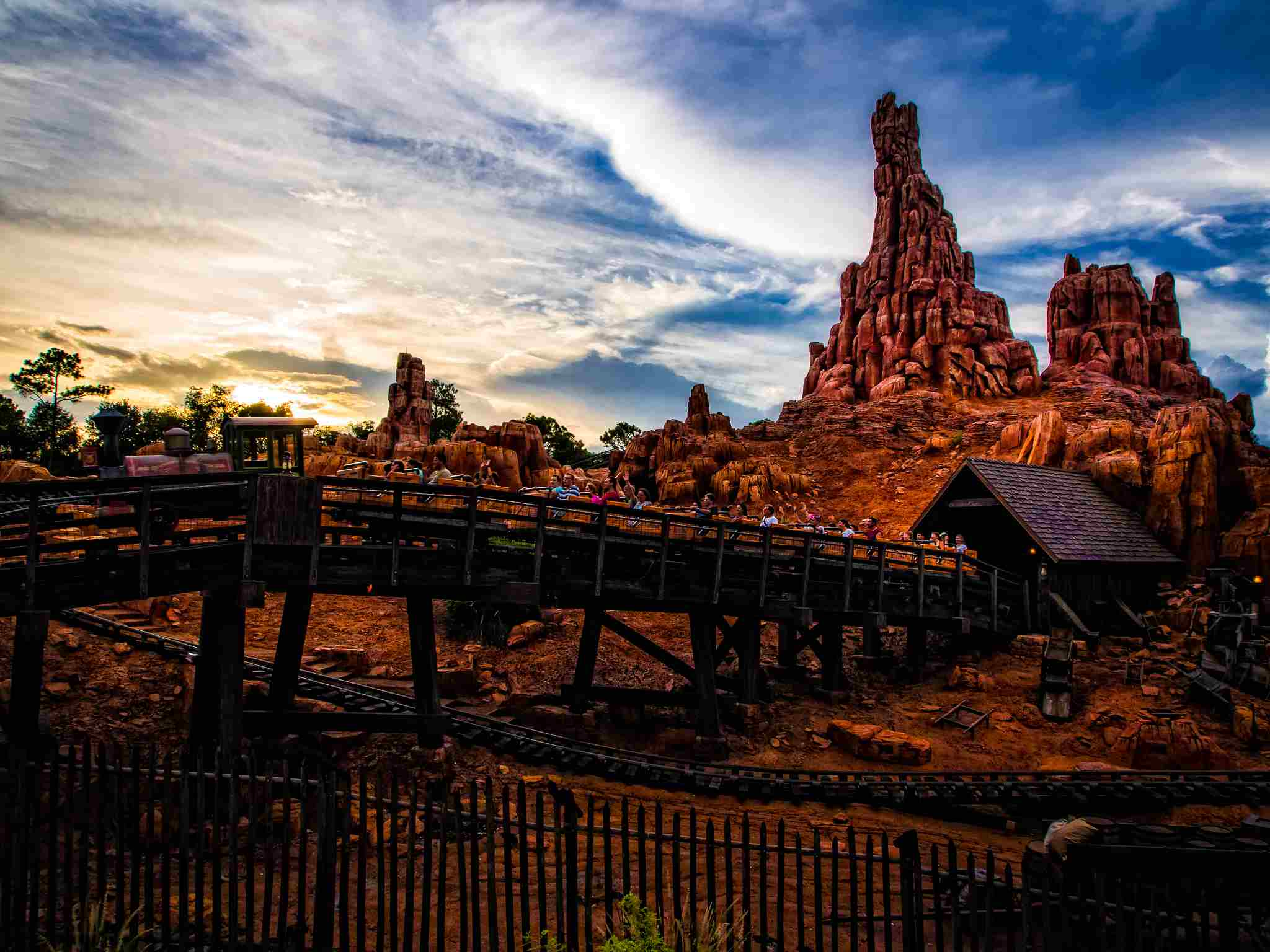 Thunder Mountain Disney World