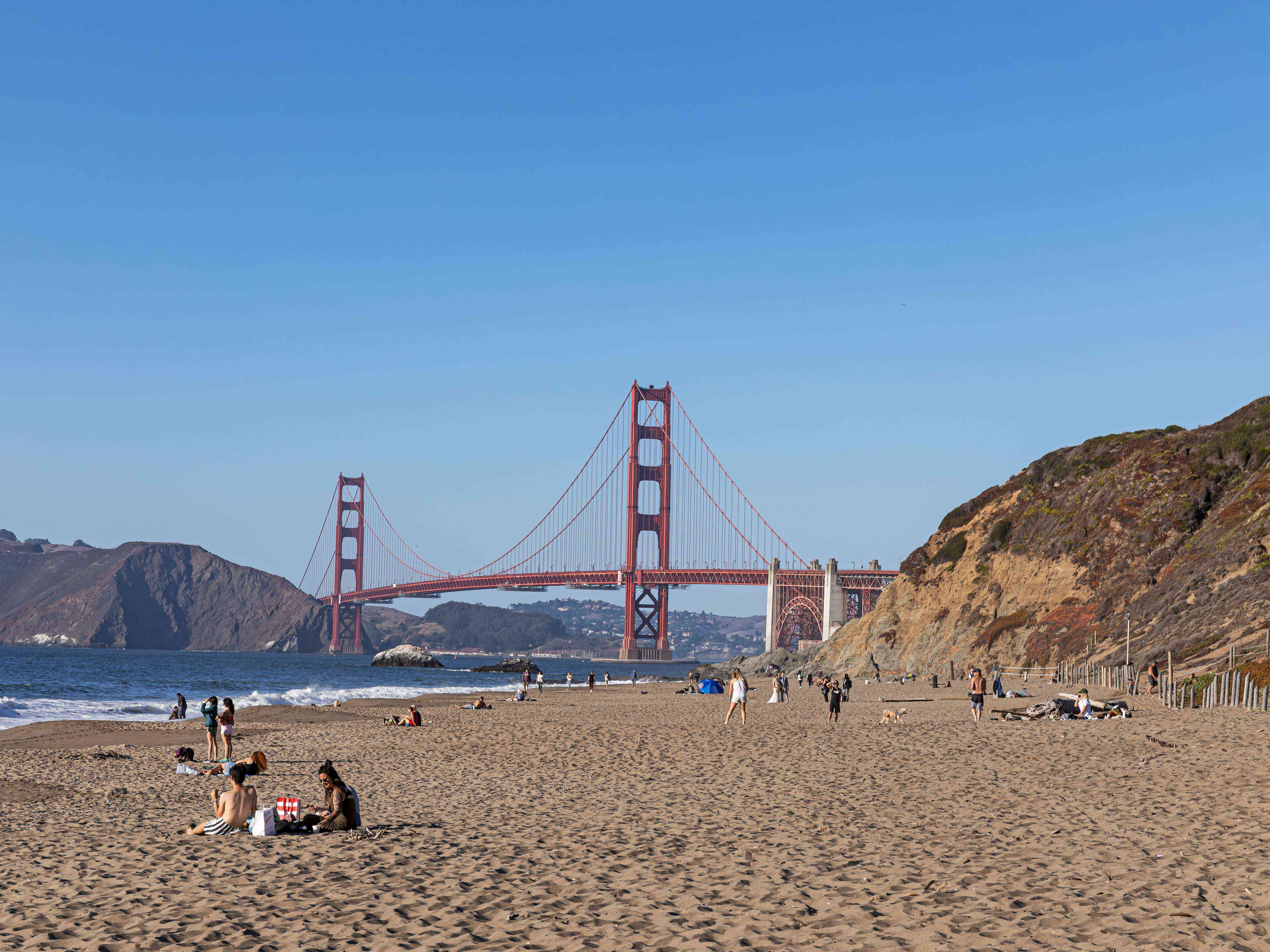 Baker Beach in San Francisco