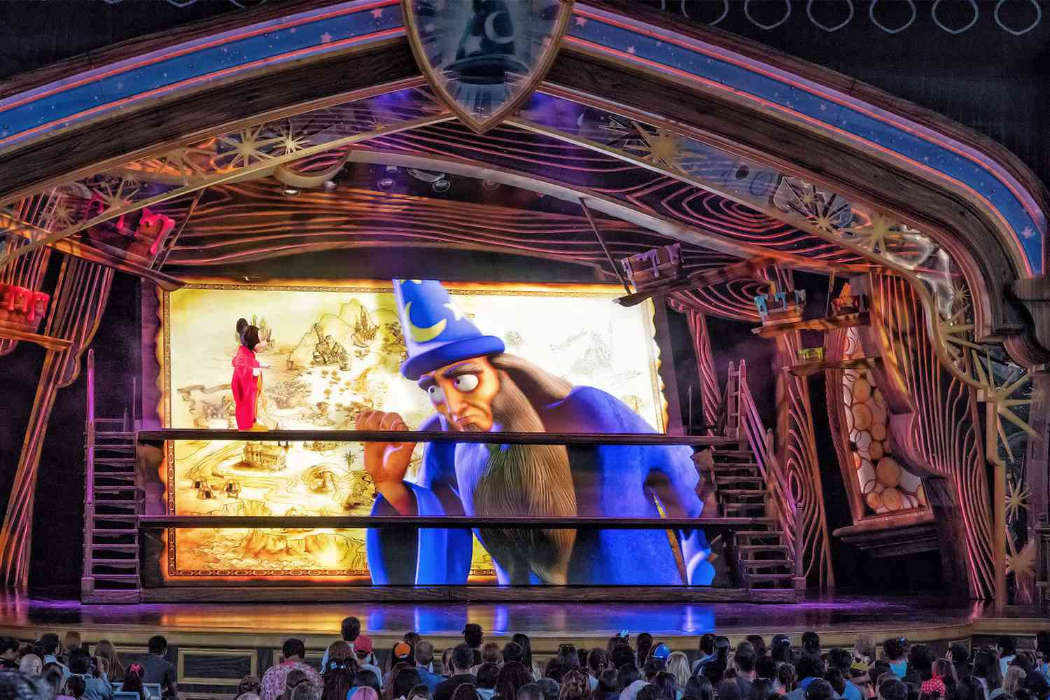 Scene from Mickey and the Magical Map