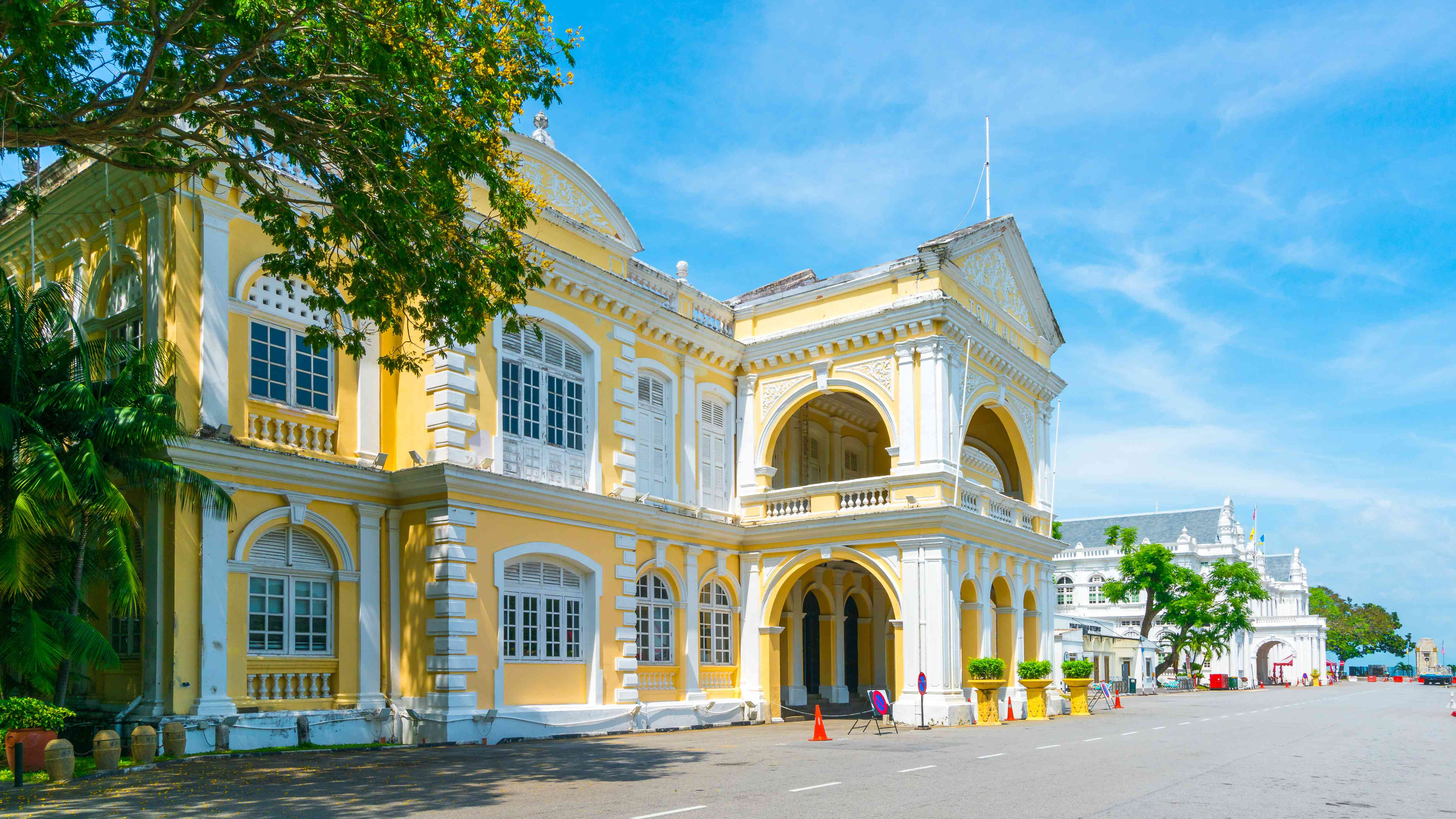 The Town Hall building in Penang, Malaysia