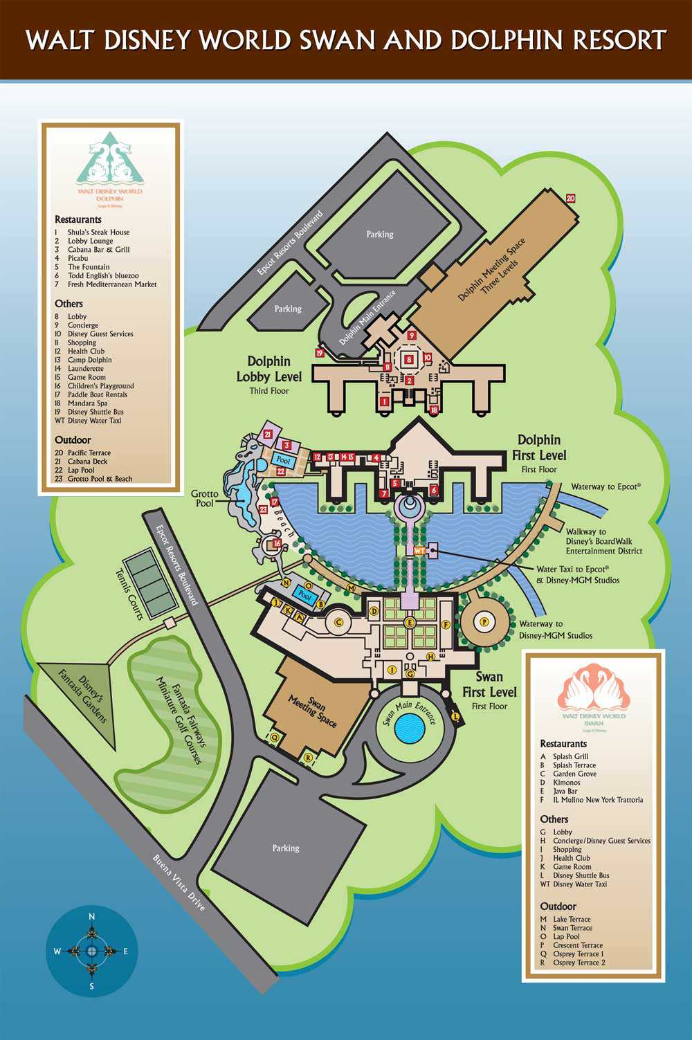 Disney World Maps for Each Resort
