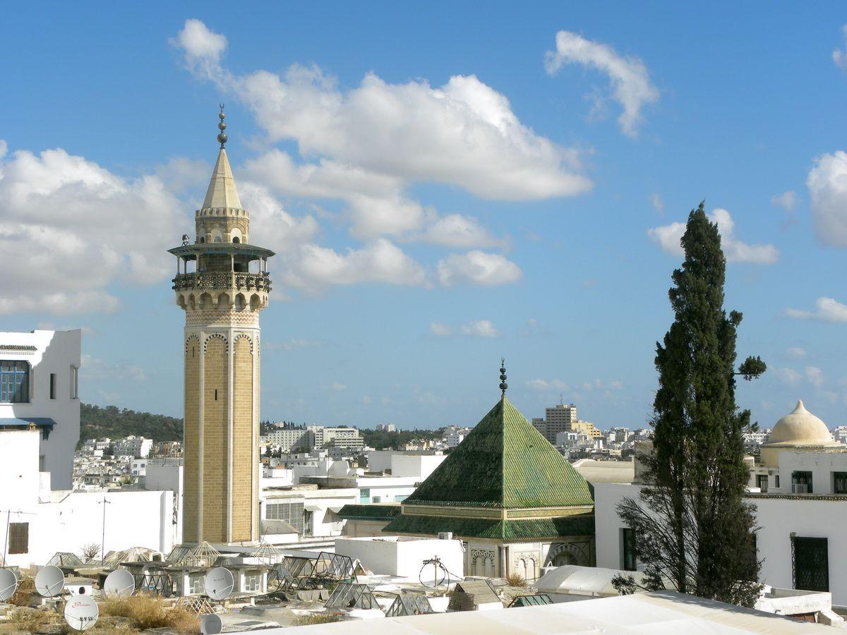 Downtown Tunis, Tunisia
