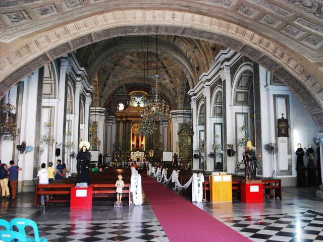 Interior of San Agustin Church, Intramuros, Manila