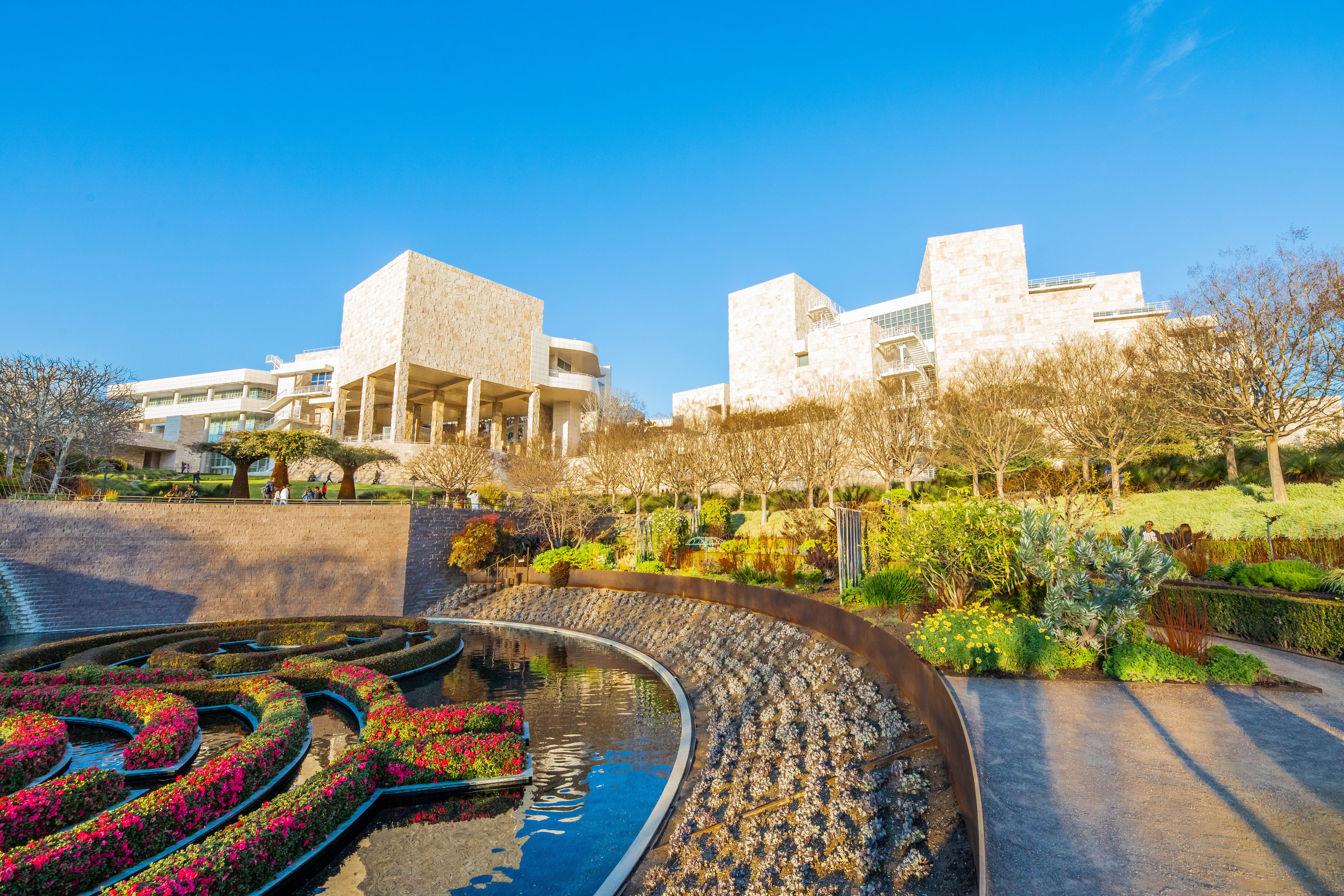 Garden at the Getty