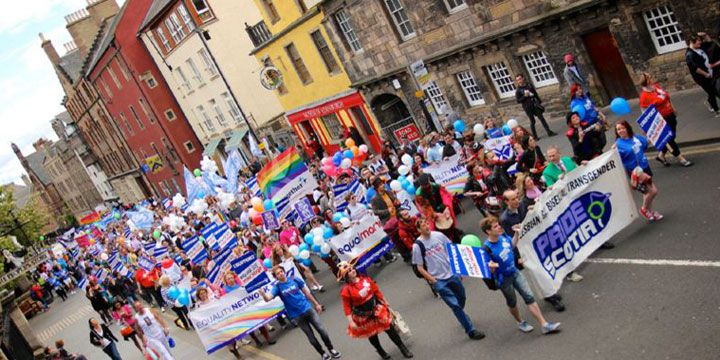 Pride Scotia in Edinburgh