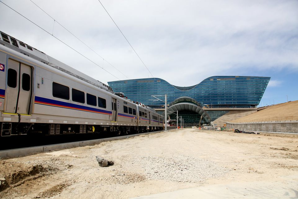 Denver International Airport train