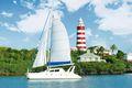 Island hopping in the Bahamas