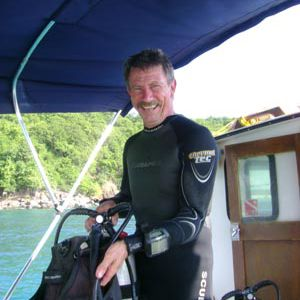 Walter Rieder of Culebra Divers
