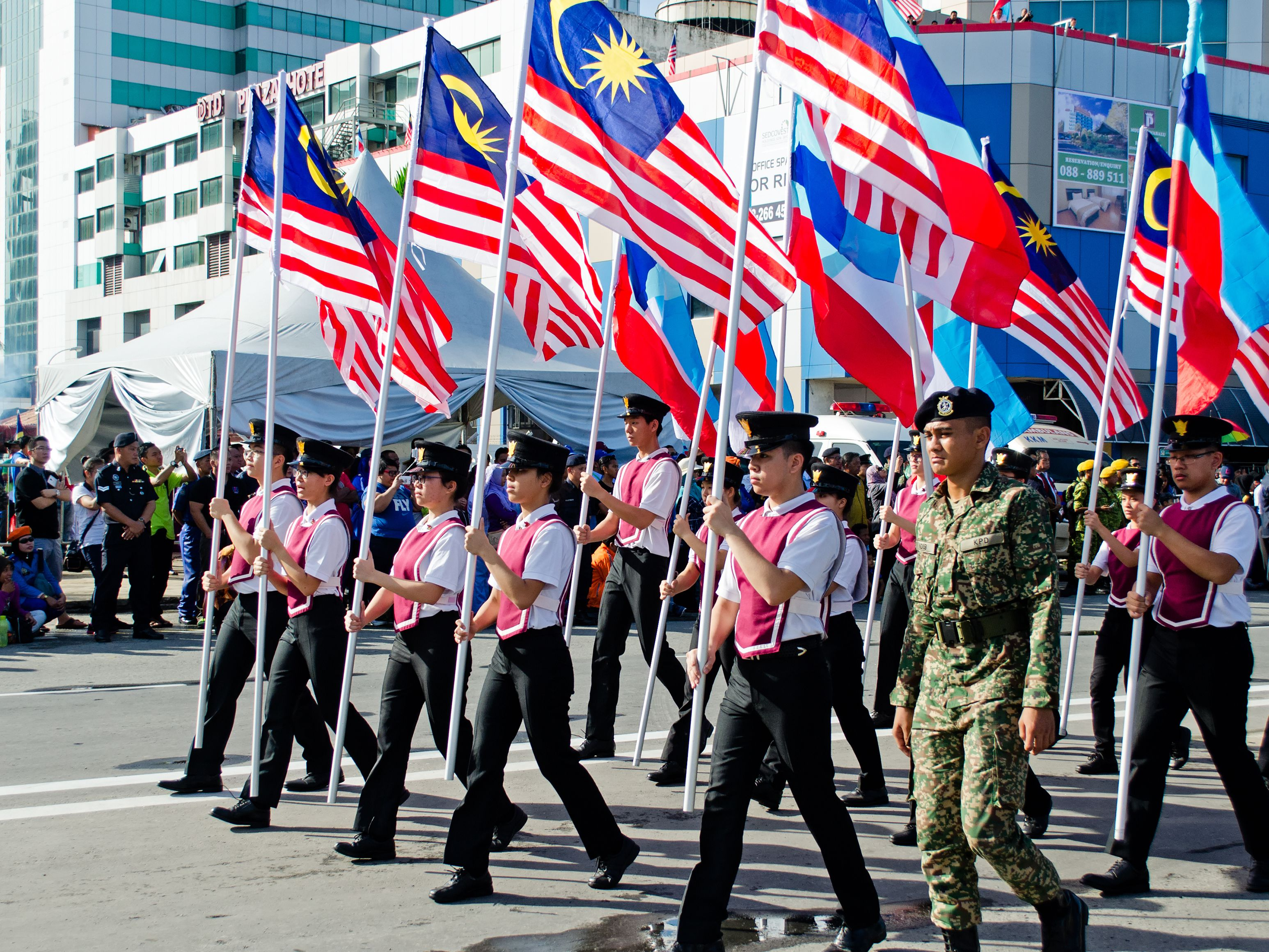 Celebrating Hari Merdeka Independence Day In Malaysia